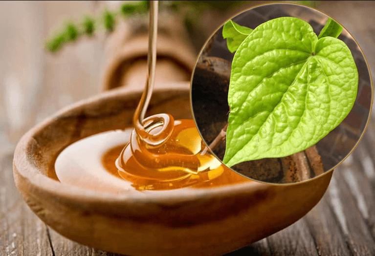 Mặt nạ lá trầu không với mật ong