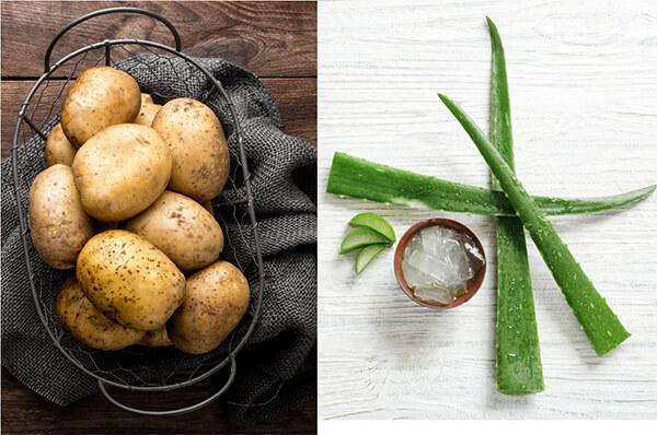 Mặt nạ nha đam khoai tây
