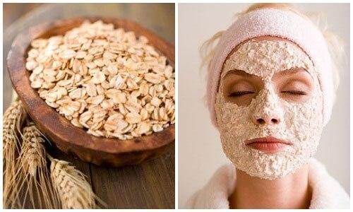 Mặt nạ dưỡng da từ bột yến mạch