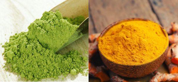 Bột trà xanh có chất kháng viêm, chống oxy hóa tốt cho da mụn
