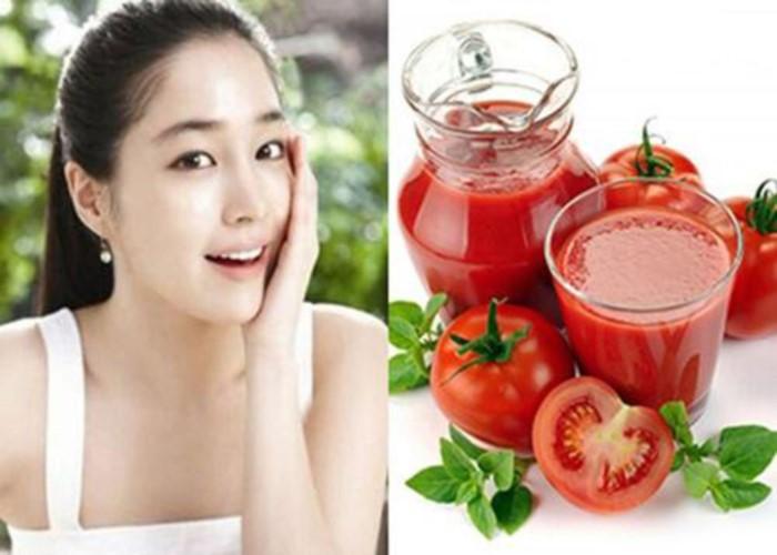 cách trị thâm mụn bằng cà chua hiệu quả
