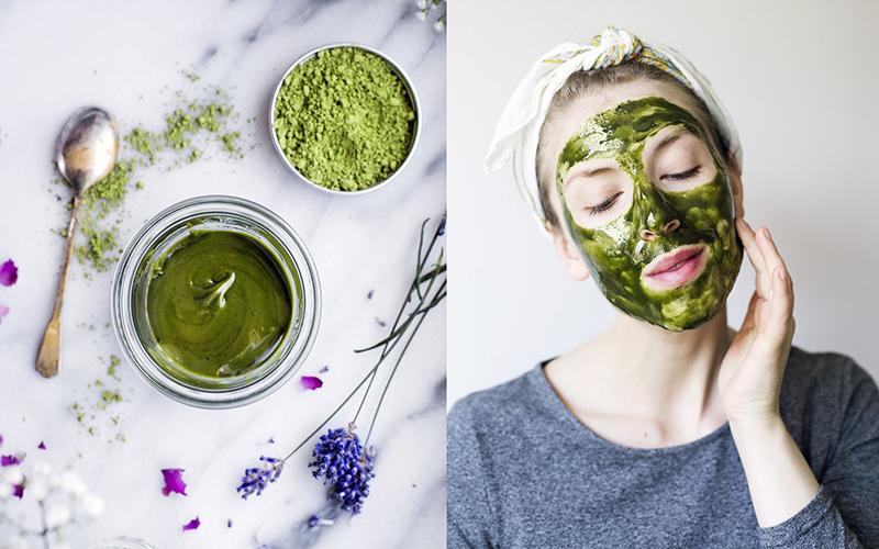 Hiệu quả chăm sóc da mặt của trà xanh