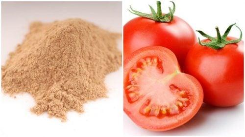 Mặt nạ cà chua đất sét tốt cho da nhờn bị mụn đầu đen