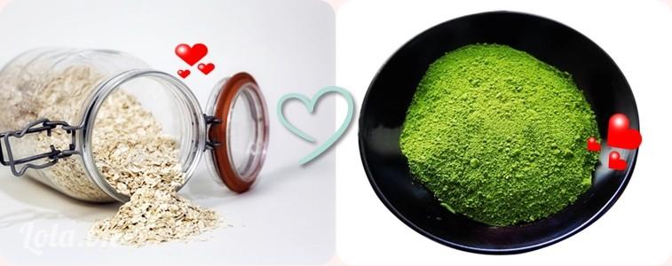 Mặt nạ trà xanh và nước vo gạo giúp da trắng sáng